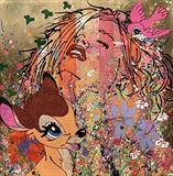 YumYum ... Bambi by Louise Dear, Painting